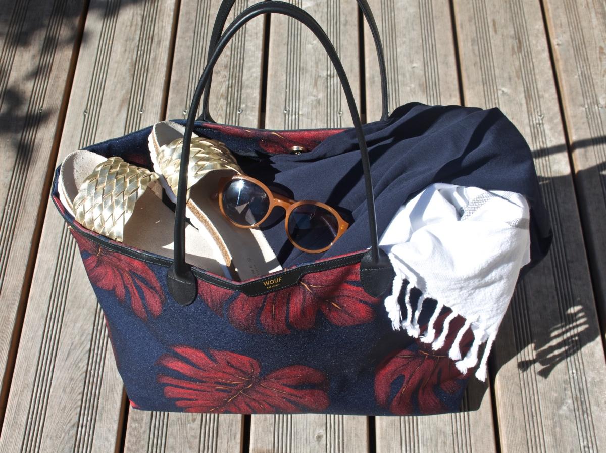 Ich packe meine Tasche und nehme mit... Eine Tasche, meine Tasche, nur für mich. Fast.